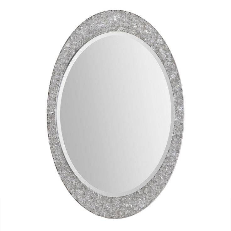 11 Best Mirrors Images On Pinterest | Wall Mirrors, Round Wall Pertaining To Oval Mirrors For Walls (View 17 of 20)