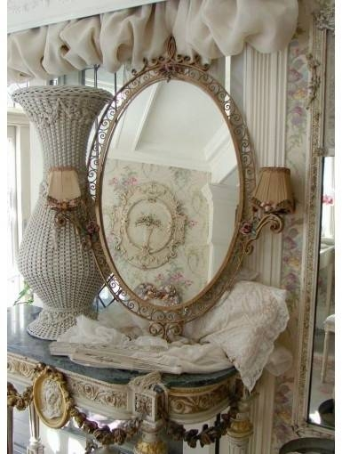 110 Best Lenoveaurose~~Jill Garber Designs Images On Pinterest Pertaining To French Inspired Mirrors (#2 of 30)
