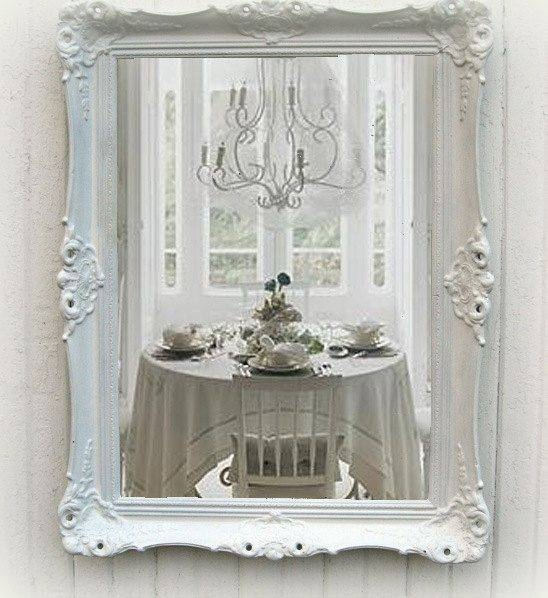 110 Best Shabby Chic Images On Pinterest | Live, Home And Projects With White Shabby Chic Mirrors (#1 of 30)