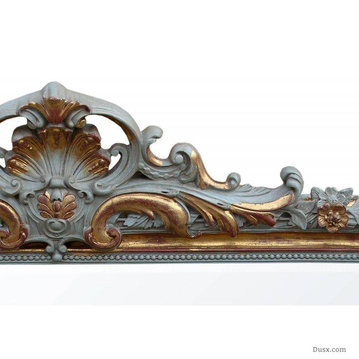 110 Best What Is The Style – French Rococo Mirrors Images On Regarding Gold French Mirrors (#1 of 30)