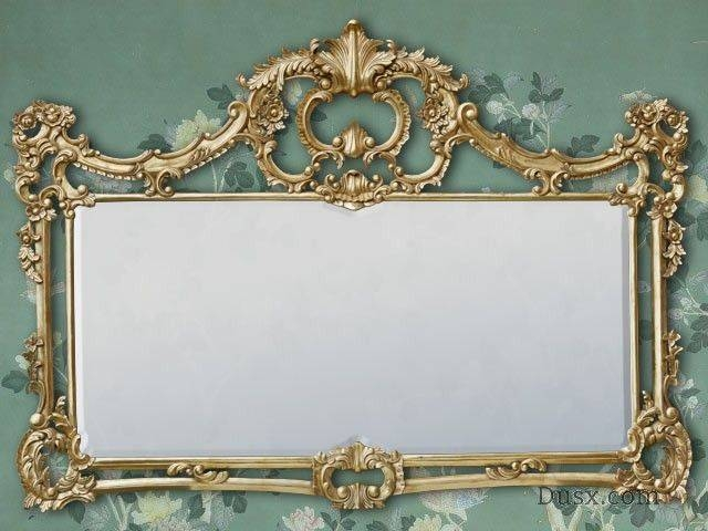 110 Best What Is The Style – French Rococo Mirrors Images On Within Gold French Mirrors (#2 of 30)