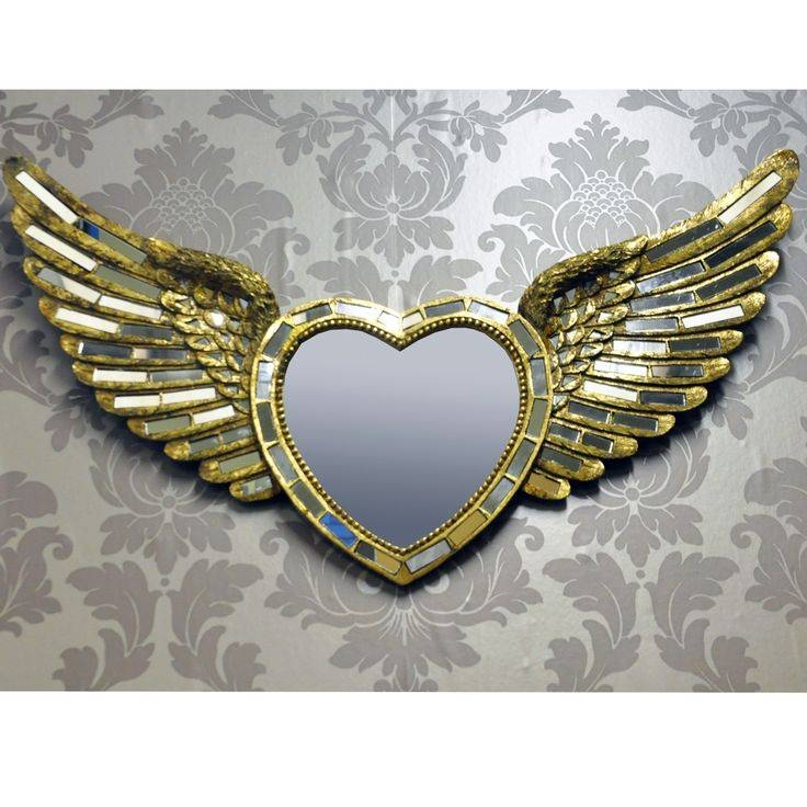 112 Best Mirror, Mirror On The Wall Images On Pinterest | Mirror Intended For Gold Heart Mirrors (#2 of 30)