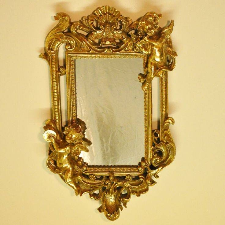 112 Best Mirror, Mirror On The Wall Images On Pinterest | Mirror Regarding Vintage Gold Mirrors (#2 of 30)