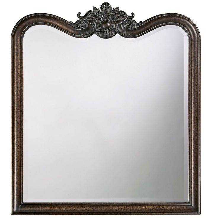 113 Best Mirrors Images On Pinterest | Mirror Mirror, Wall Mirrors Regarding Black Vintage Mirrors (#1 of 30)