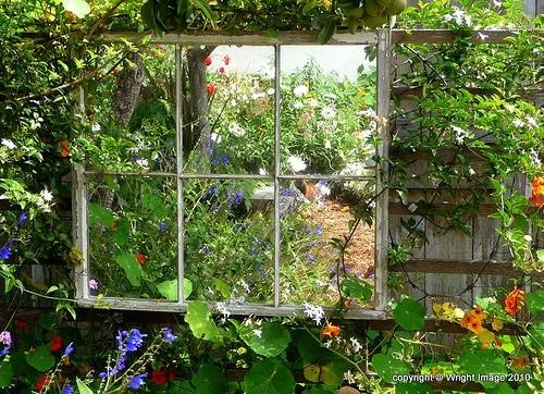 114 Best Peili Puutarhassa / Outdoor Garden Mirrors Images On Inside Garden Window Mirrors (#2 of 20)
