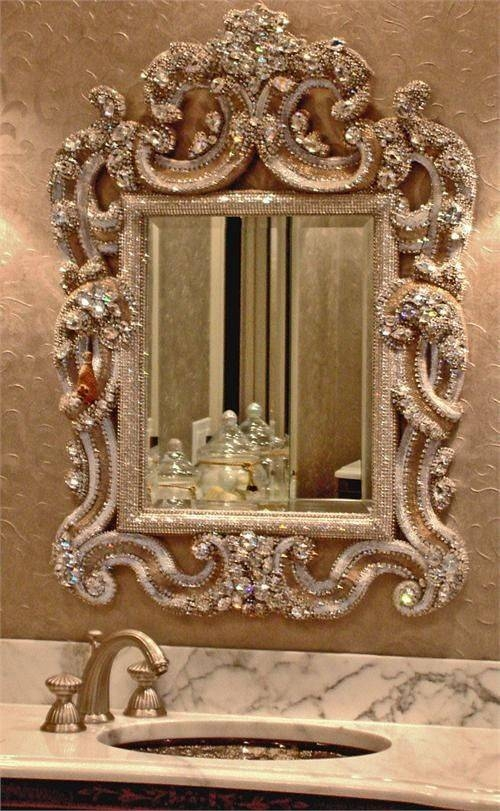 115 Best Ornate Gold Mirrors Images On Pinterest | Gold Mirrors In Vintage Ornate Mirrors (#1 of 15)