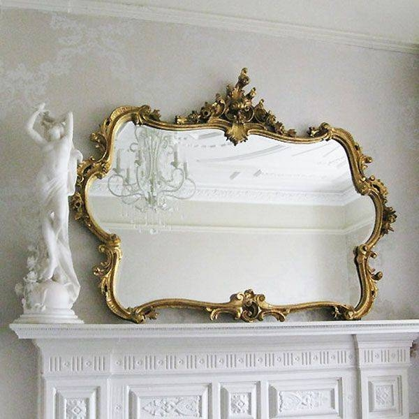 115 Best Ornate Gold Mirrors Images On Pinterest   Gold Mirrors Pertaining To Gold Ornate Mirrors (#1 of 20)