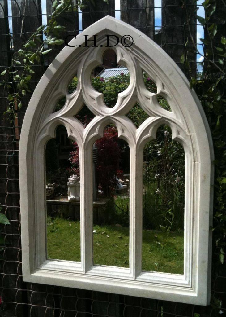 116 Best Garden Mirrors Images On Pinterest | Garden Mirrors Throughout Gothic Garden Mirrors (#1 of 30)
