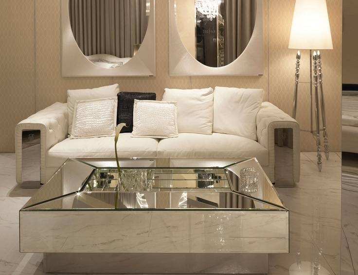 119 Best Living Room Coffee Tables Images On Pinterest | Living Pertaining To Occasional Tables Mirrors (#1 of 30)