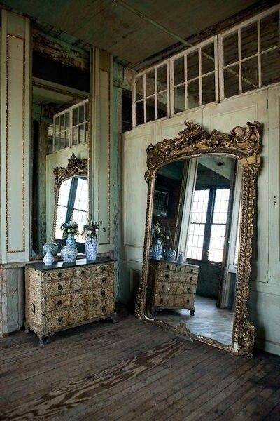 119 Best Mirror Mirror On The Wall Images On Pinterest | Mirror Regarding Large Old Mirrors (View 1 of 30)