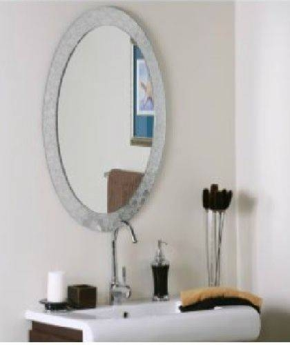 Popular Photo of Oval Shaped Wall Mirrors