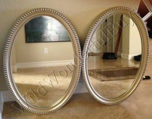 12 Best Bathroom Mirrors Images On Pinterest | Bathroom Mirrors Within Silver Oval Wall Mirrors (View 16 of 20)