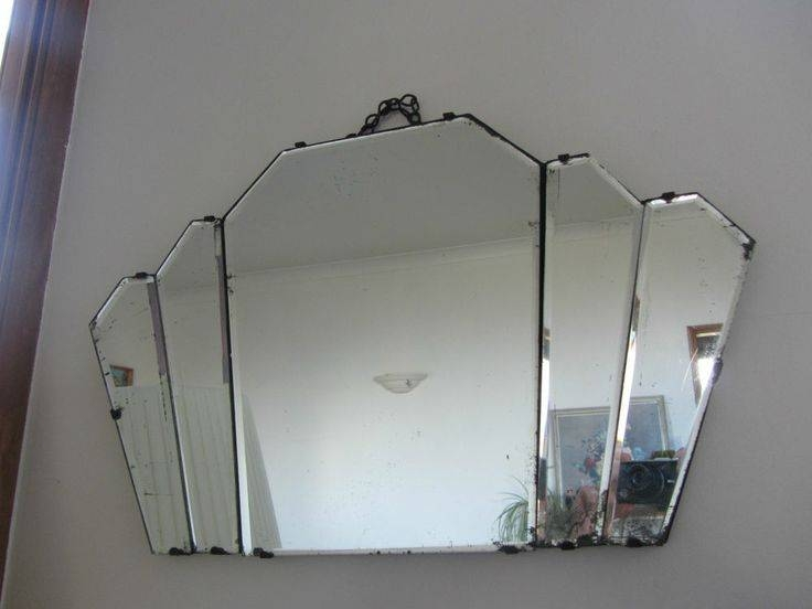 Popular Photo of Antique Art Deco Mirrors
