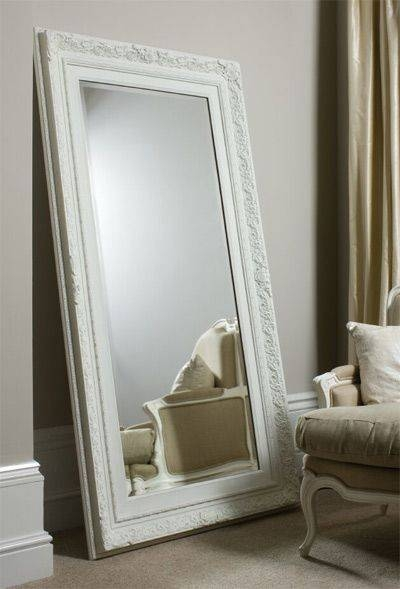 30 Best Ideas Of Large White Floor Mirrors