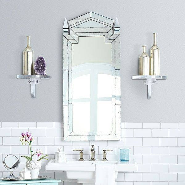 12 Best Old Fashioned Bathroom Images On Pinterest | Art Deco For Deco Bathroom Mirrors (#1 of 20)