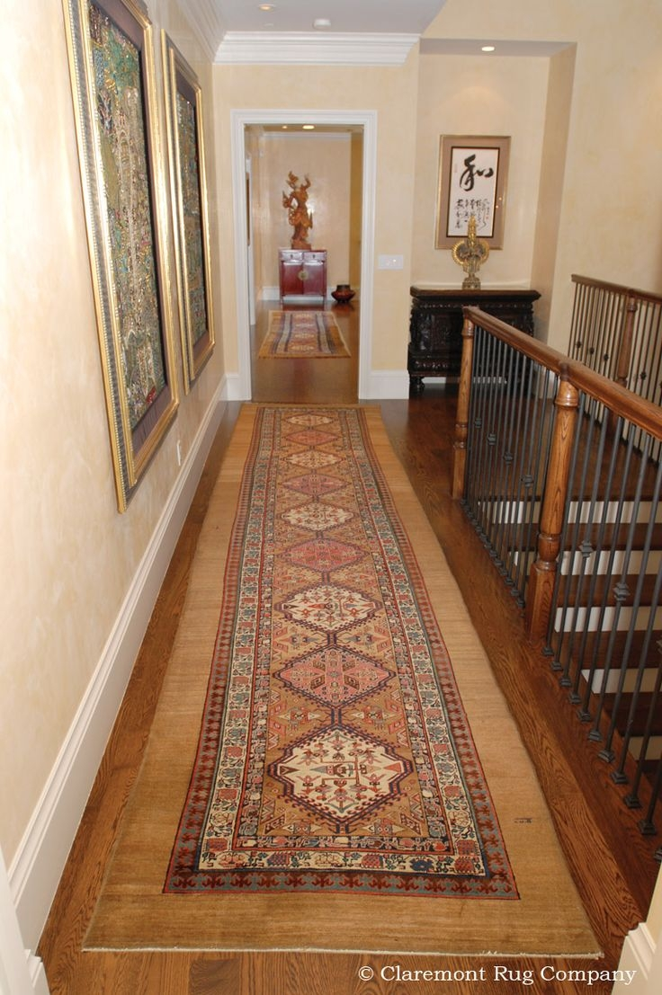 12 Best Refined Corridor And Hallway Decor Images On Pinterest Inside Hallway Rug Runner For Long Hallway (#1 of 20)