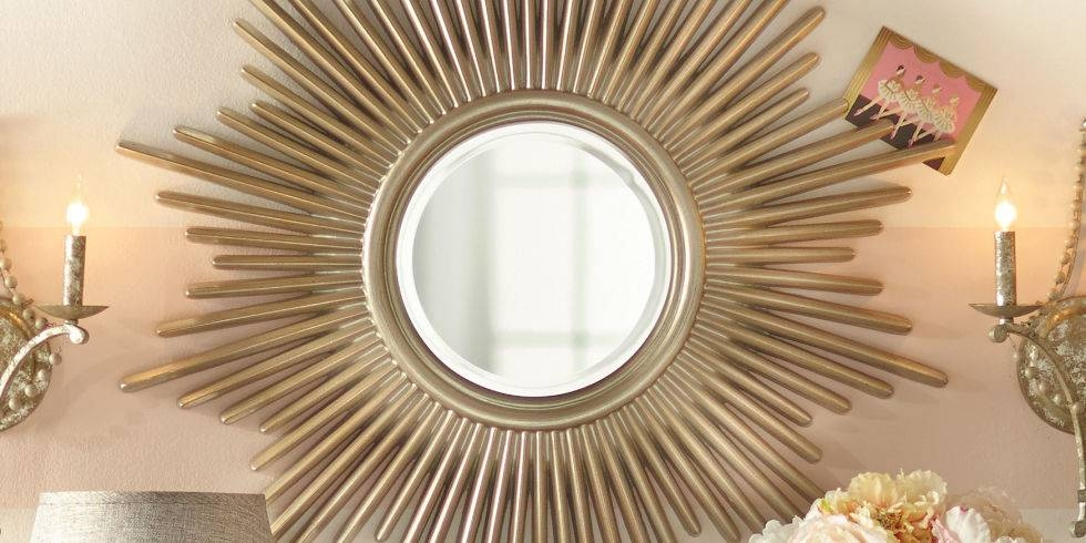 12 Best Sunburst Mirrors In 2017 – Decorative Small And Large For Landscape Wall Mirrors (#1 of 30)
