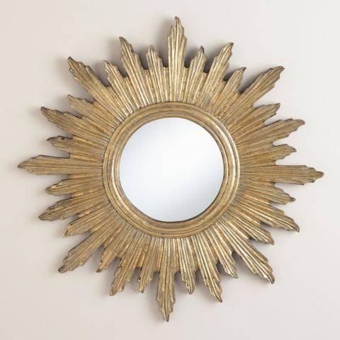 Popular Photo of Large Sunburst Mirrors