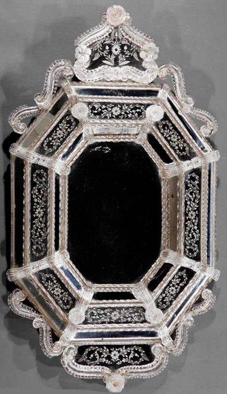 12 Best Venetian Glass Mirrors Images On Pinterest | Glass Mirrors With Regard To Venetian Etched Glass Mirrors (View 19 of 20)