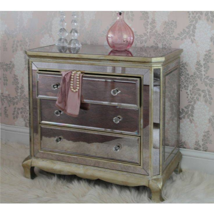 12 Best Venetian Mirrored French Bedroom Furniture Images On Inside Venetian Mirrored Chest Of Drawers (#1 of 20)