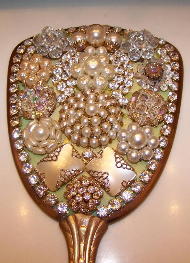 Popular Photo of Embellished Mirrors