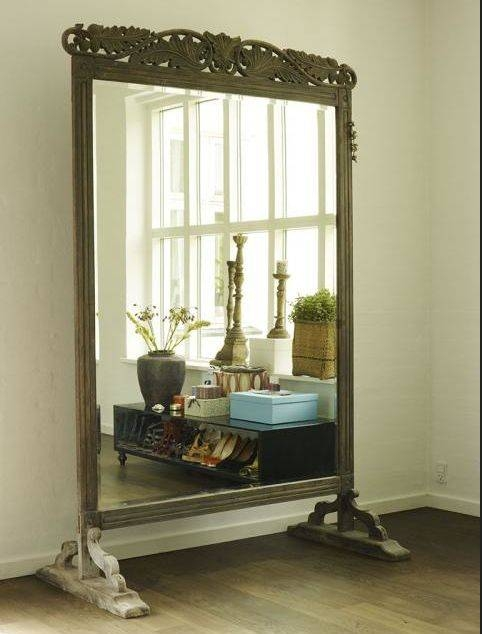 122 Best Mirror Mirror Images On Pinterest | Mirrors, Mirror For Large Old Mirrors (View 2 of 30)