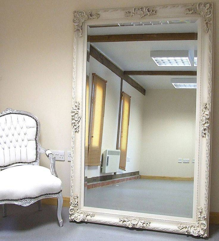 123 Best Mirror Images On Pinterest | Mirror Mirror, Mirrors And Home Intended For Shabby Chic Large Wall Mirrors (#1 of 20)