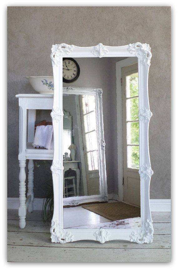 123 Best Mirror Images On Pinterest | Mirror Mirror, Mirrors And Home Throughout Antique Large Mirrors (#1 of 20)