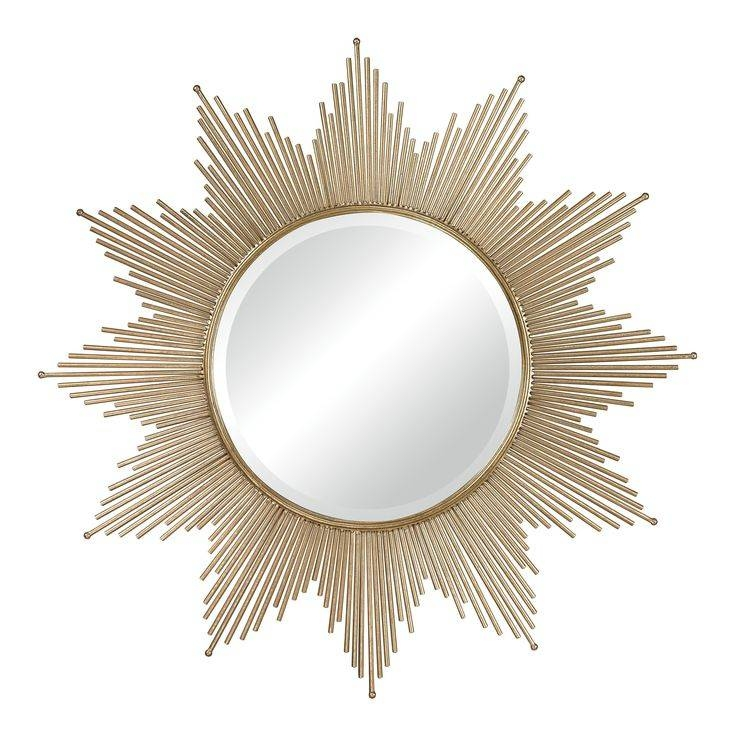 123 Best Mirrors Images On Pinterest | Mirror Mirror, Round Pertaining To Bronze Starburst Mirrors (View 12 of 20)