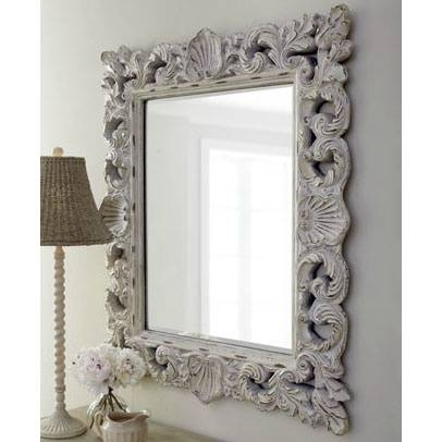 124 Best ♡ Mirrors ♡ Images On Pinterest | Mirror Mirror, Mirror Pertaining To Shabby Chic Gold Mirrors (#1 of 30)