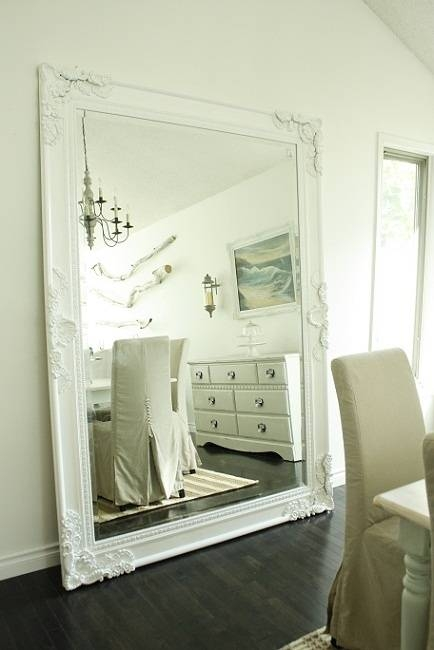 126 Best Things You Can Do With Mirrors Images On Pinterest Regarding Big White Mirrors (#3 of 20)