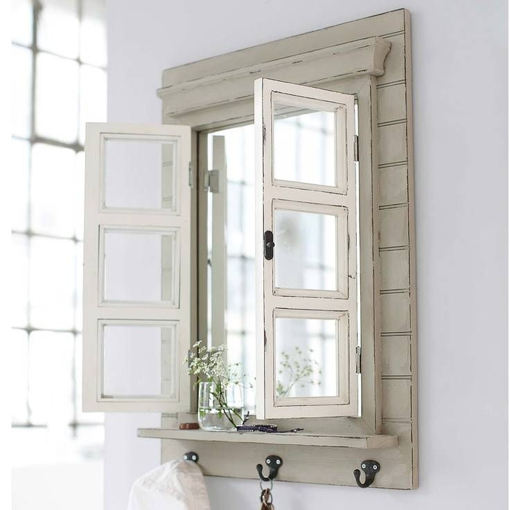 127 Best Windows Recycled!!! Images On Pinterest | Old Windows For Shabby Chic Window Mirrors (View 8 of 20)