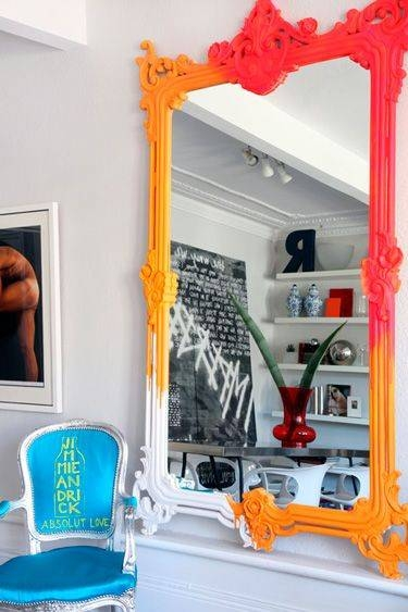 129 Best Mirror Mirror On The Wall Images On Pinterest | Mirror Intended For Bright Coloured Mirrors (#2 of 20)
