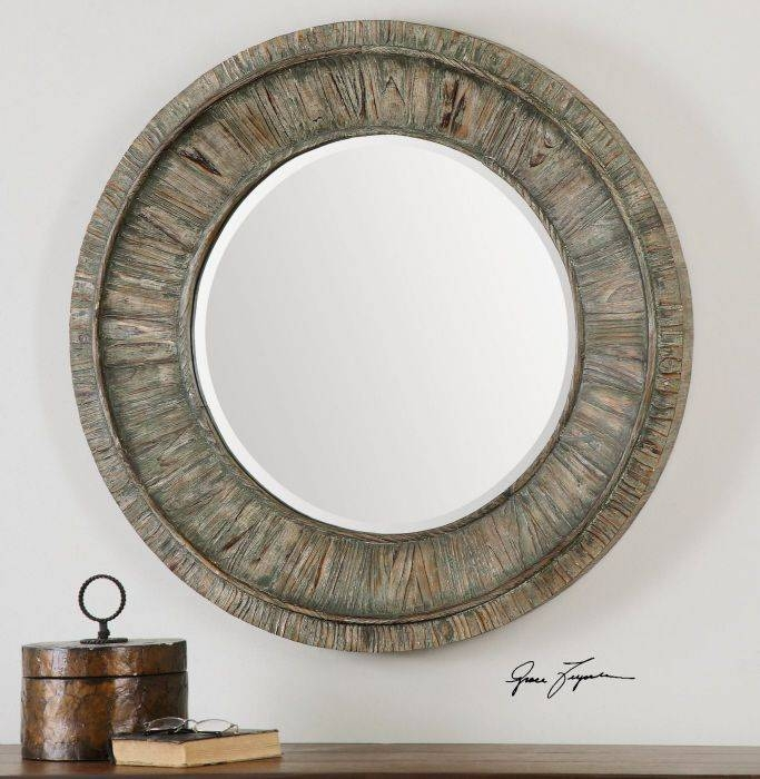 13 Best Accent Wall Mirrors For Home Decor Images On Pinterest Regarding Large Round Wooden Mirrors (#2 of 20)