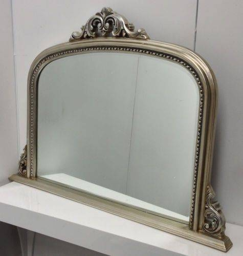 13 Best Antique Mirrors Images On Pinterest | Antique Mirrors Intended For Vintage Overmantle Mirrors (#1 of 20)