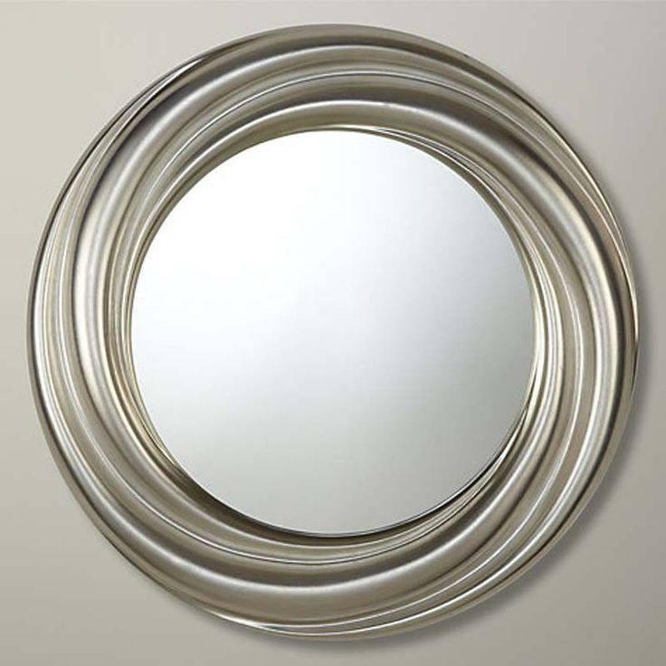13 Best Mirror Images On Pinterest | Round Mirrors, Mirror Mirror Within Silver Round Mirrors (#2 of 30)