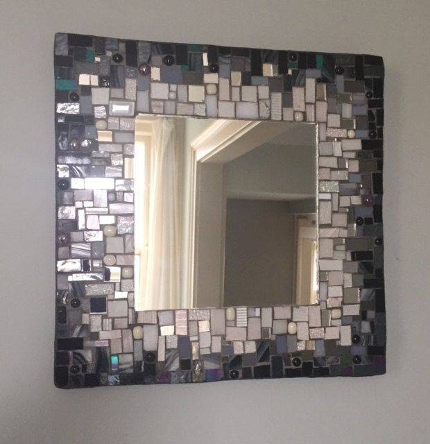 13 Best Mosaic Mirrors Images On Pinterest | Mosaic Mirrors In Black Mosaic Mirrors (#1 of 30)