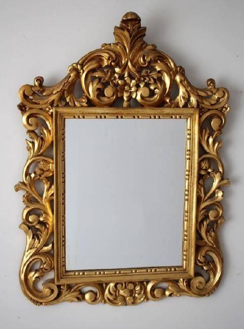 1301 Best Espejos Images On Pinterest | Mirror Mirror, Antique Regarding Gilt Framed Mirrors (View 9 of 20)