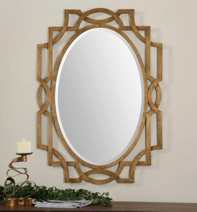 132 Best Uttermost Mirrors Images On Pinterest | Uttermost Mirrors Throughout Gold Mirrors (#2 of 30)