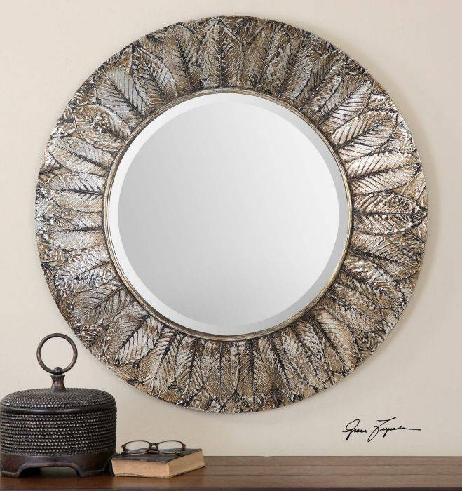 132 Best Uttermost Mirrors Images On Pinterest | Uttermost Mirrors With Distressed Silver Mirrors (#3 of 20)