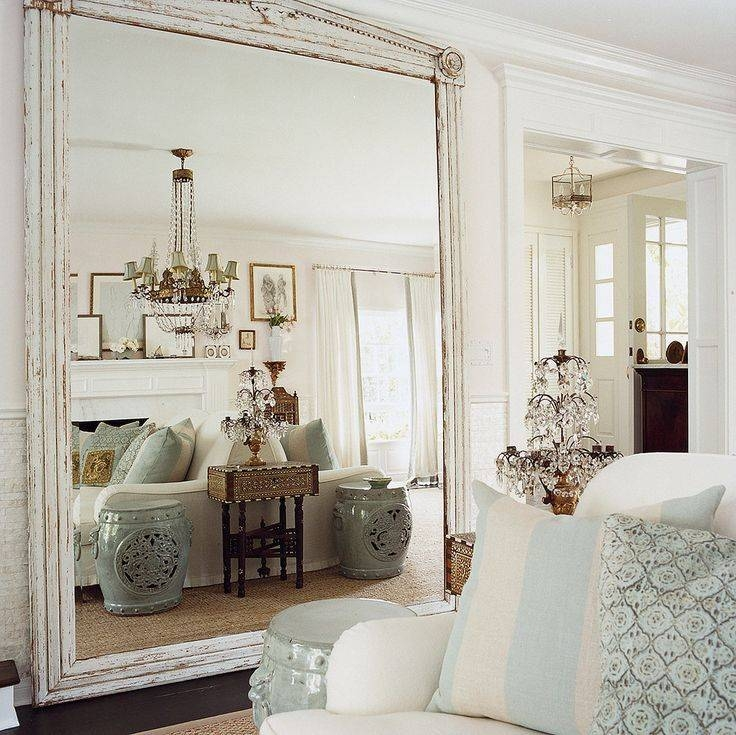 133 Best Diy Mirrors Images On Pinterest | Mirrors, Diy Mirror And Within Large White French Mirrors (#3 of 30)