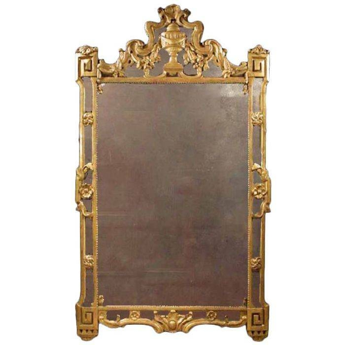 136 Best Antique Mirrors Images On Pinterest | Antique Mirrors Intended For Gilt Mirrors (View 9 of 20)