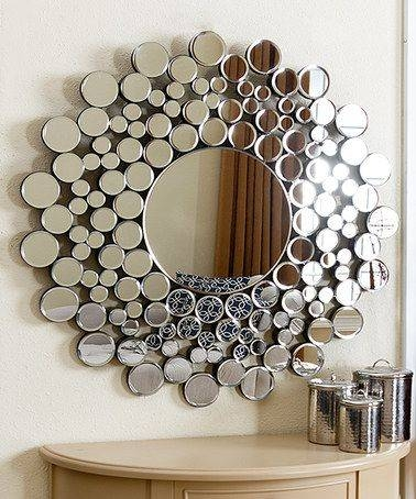 136 Best Mirrors Images On Pinterest | Wall Mirrors, Mirror Mirror Intended For Round Bubble Mirrors (#2 of 30)