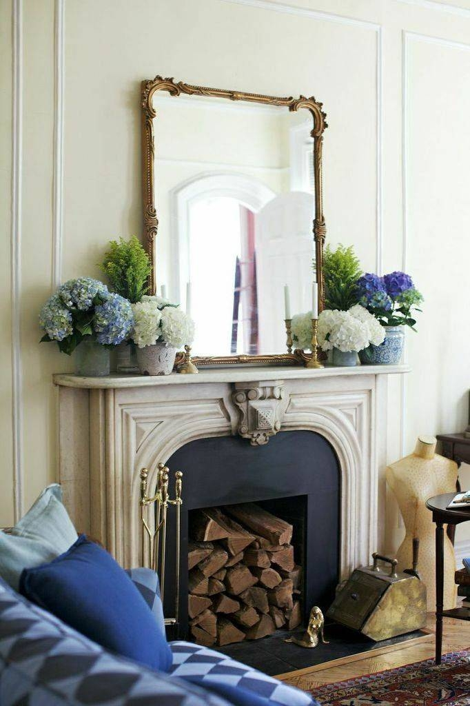 138 Best F I R E P L A C E Images On Pinterest | Fireplace Design Pertaining To Mantelpiece Mirrors (#1 of 30)