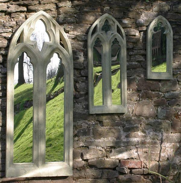 14 Best Garden Mirrors Images On Pinterest | Garden Mirrors Throughout Gothic Garden Mirrors (#3 of 30)