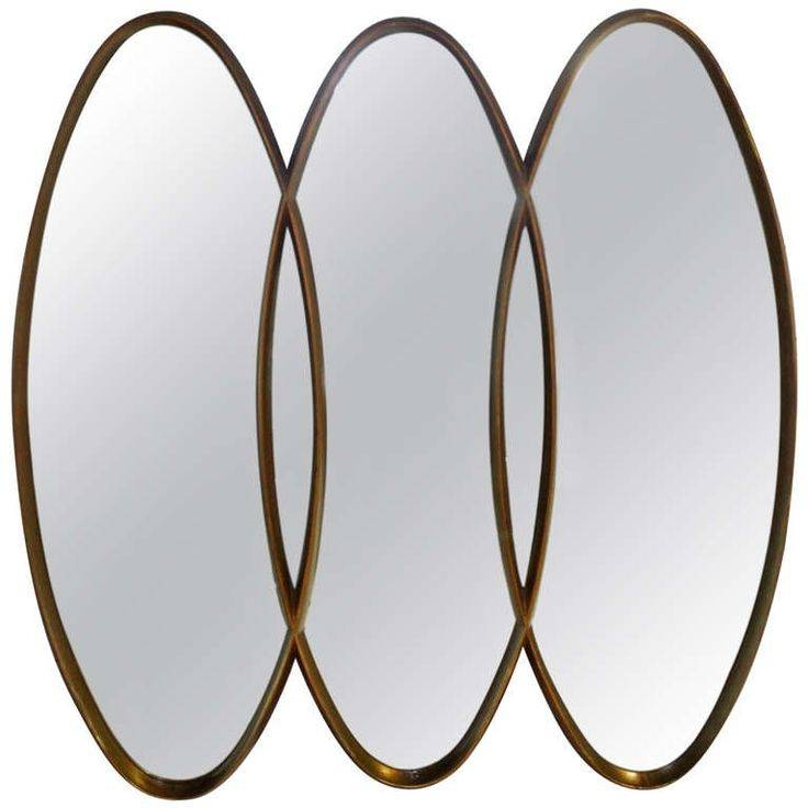 14 Best Mirror Mirror Images On Pinterest | Mirror Mirror, Mirror Inside Triple Oval Wall Mirrors (#3 of 20)
