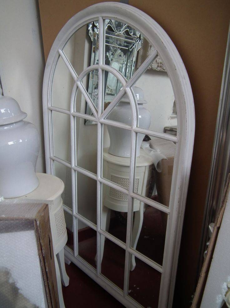 14 Best Mirrors Images On Pinterest | Window Mirror, Window Panes Pertaining To White Arched Window Mirrors (#1 of 20)