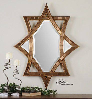 14 Best Stained Glass Mirrors Images On Pinterest | Glass Mirrors Pertaining To Bronze Mosaic Mirrors (#3 of 30)