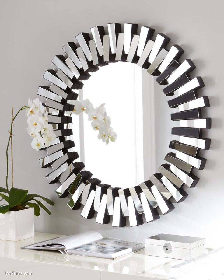 140 Best Decorative Mirrors Images On Pinterest | Decorative Within Unique Round Mirrors (#1 of 30)
