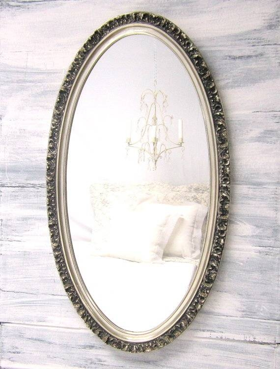 142 Best Decorative Ornate Antique & Vintage Mirrors For Sale Inside Large Silver Vintage Mirrors (#2 of 30)
